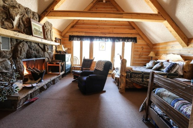 the eagle suite at Sundance Trail dude ranch Colorado