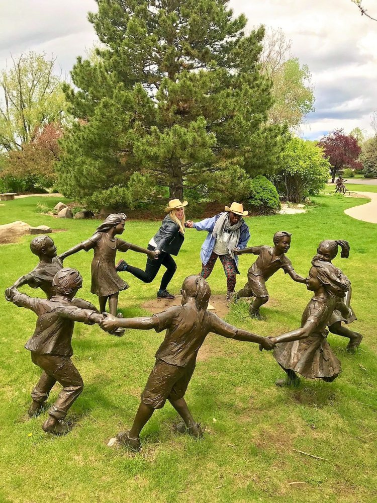benson sculpture garden things to do in Loveland Colorado