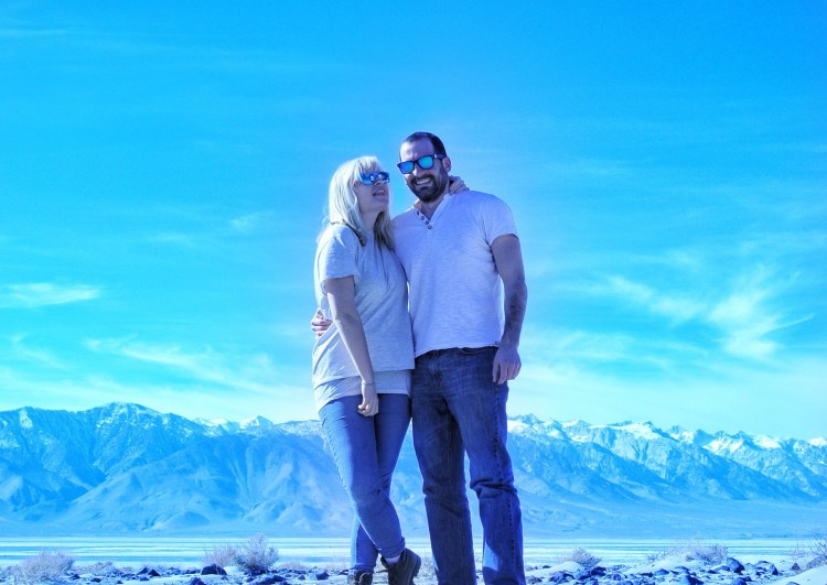 couple photo me and Ali in Death Valley