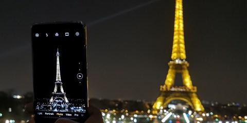 huawei P30 photo of Eiffel tower