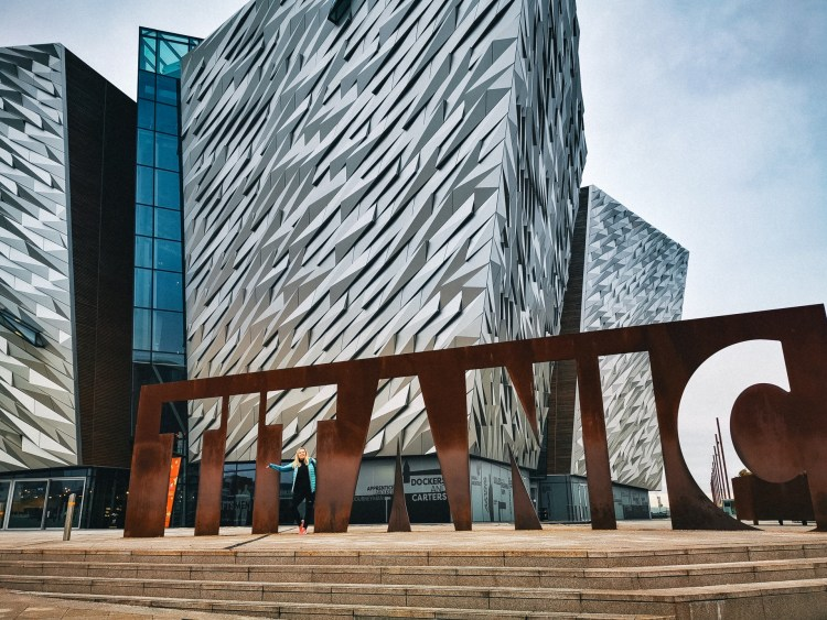 Belfast day tour from Dublin Titanic Museum