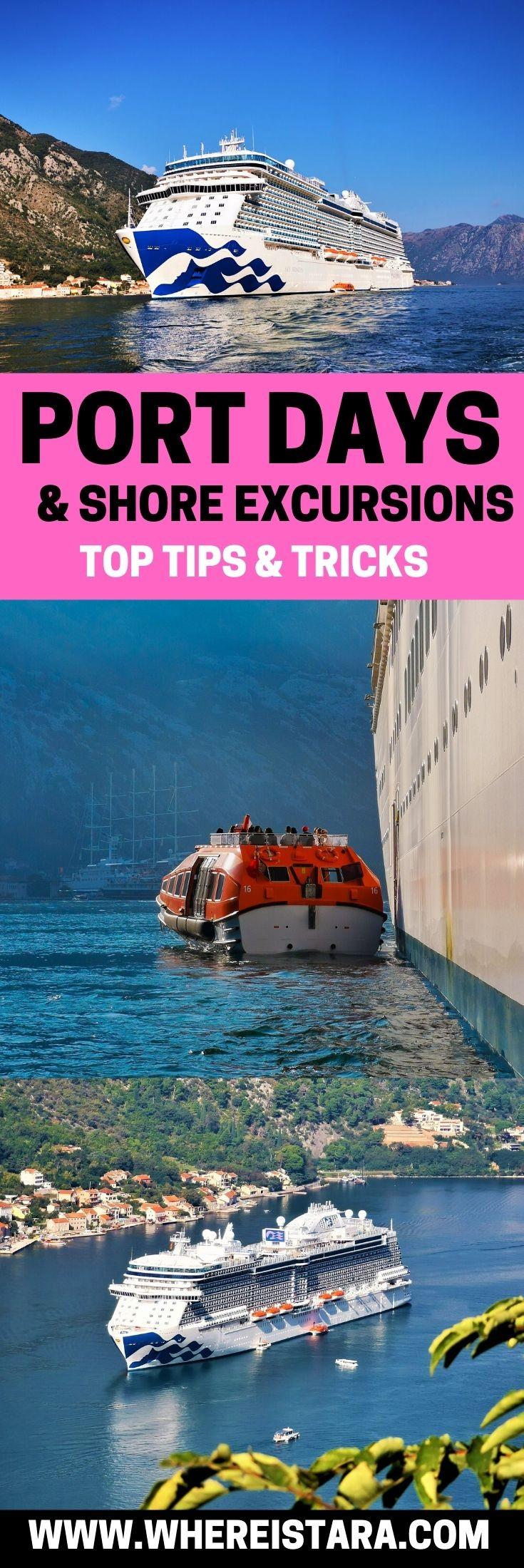 port days and shore excursons princess cruises pin 1