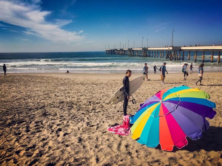 5 days in LA Los Angeles itinerary Venice Beach