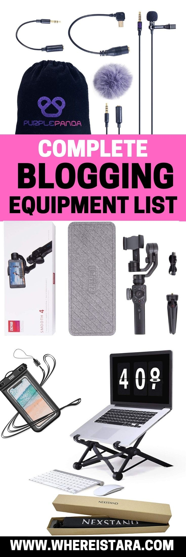 blogging equipment list pin 1 (1)