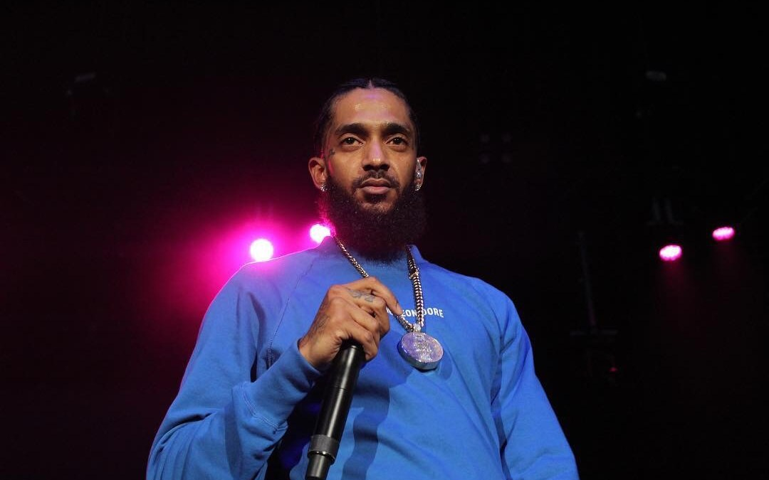 NIPSEY HUSSLE TRIBUTE AT THE 2ND ANNUAL WELCOME TO THE WEST FESTIVAL