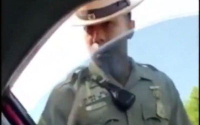 Police Officer Abuses His Power and Violates Rights of Man at Traffic Stop