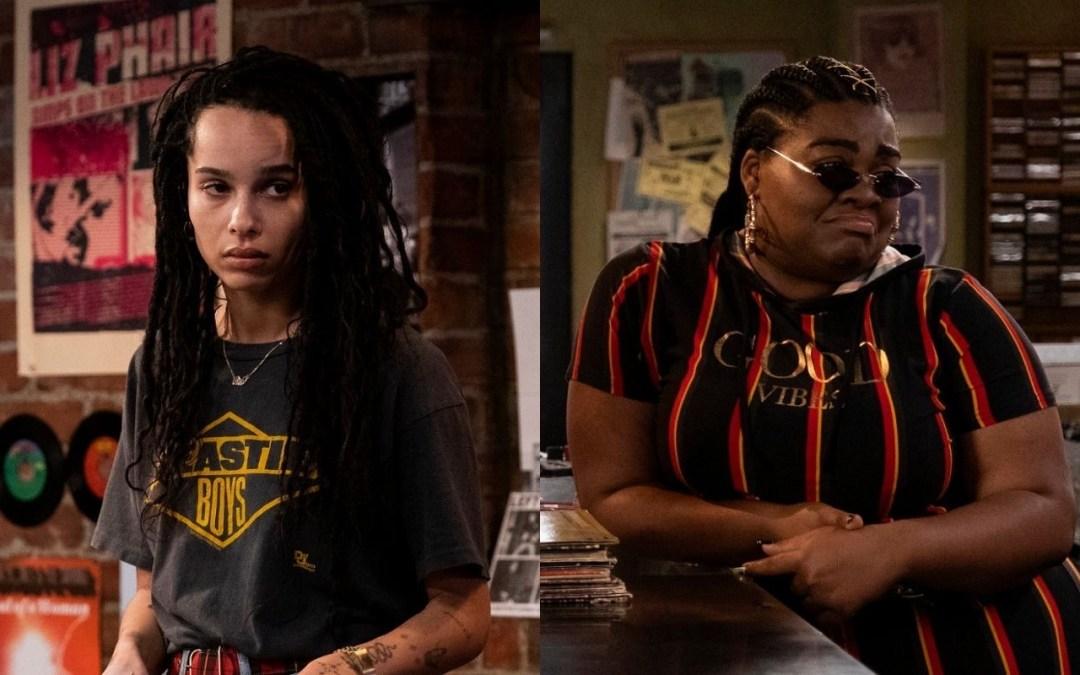 First Look At Zoë Kravitz And Da'Vine Joy Randolph In Hulu's 'High Fidelity' Reboot