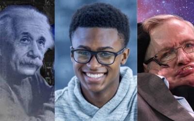 Ramarni Wilfred Has  A Higher IQ Than Albert Einstein and Stephen Hawking
