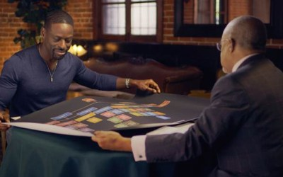 STERLING K. BROWN REVEALED HIS RECENT AFRICAN ANCESTRY ON TONIGHT'S EMOTIONAL EPISODE OF FINDING YOUR ROOTS
