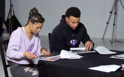 Stephen Curry and Storm Reid Collaborated For A Special Curry 7 Colorway In Commemoration Of International Women's Day