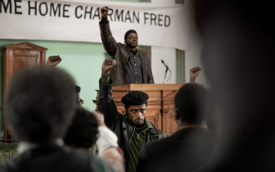 FIRST LOOK OF JUDAS AND THE BLACK MESSIAH STARRING DANIEL KALUUYA AND LAKEITH STANFIELD