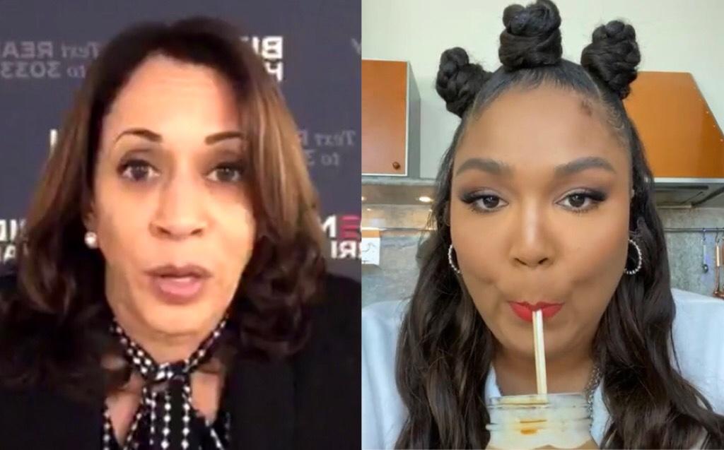 Lizzo And Senator Kamala Harris Addressed Some of Her Policies Being Anti-Black