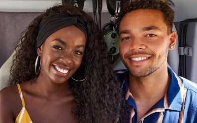 Justine and Caleb Became The First Black Couple to Win Love Island