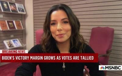Eva Longoria Downplays The Impact That Black Women Had On This Election