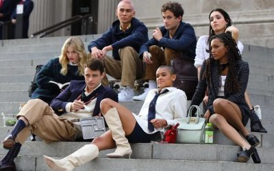 First Look: The Cast of 'Gossip Girl' Reboot in Production