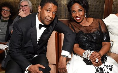 Los Angeles Fire Department Respond to Denzel and Pauletta Washington Beverly Crest Home for Possible Fire