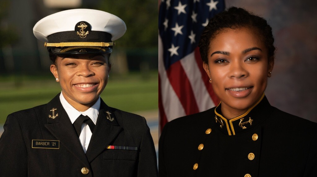 Sydney Barber Becomes First Black Woman to be Named Brigade Commander of the U.S. Naval Academy