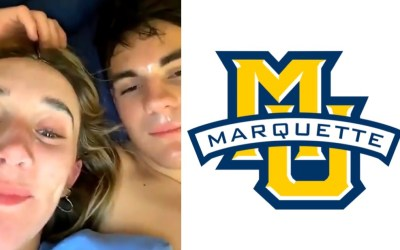 Marquette University Students Margo Dale and Jack Cleary Display Racist Behavior on Snapchat