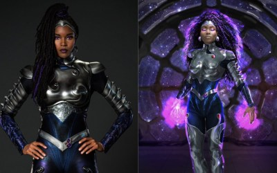 """HBO Max Unveils New """"Blackfire"""" Supersuit From Season Three of TITANS"""