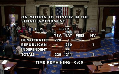 House Passed $1.9T COVID-19 Relief Bill