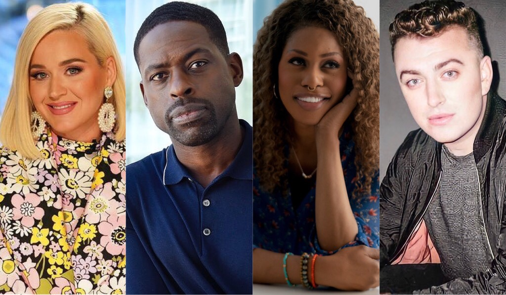 GLAAD Media Awards – Katy Perry, Laverne Cox, Sterling K. Brown, Sam Smith, and More to Appear