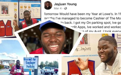 JayJuan Young: Lowes Allegedly Fired 4-Time Cashier of The Month Employee Over 37 Cents Missing From His Register
