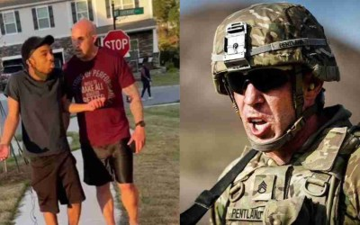 Jonathan Pentland: U.S. Army Sergeant Arrested For Assault and Battery After Harassing a Black Man in his Neighborhood