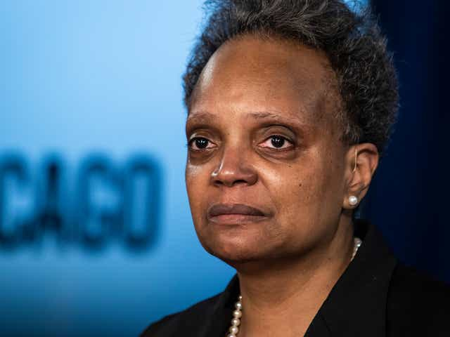 Chicago mayor Lori Lightfoot calls for peace as officials release footage of the police shooting of 13-year-old Adam Toledo