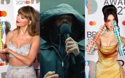 Taylor Swift, The Weeknd, and Dua Lipa Among the Winners of BRIT Awards