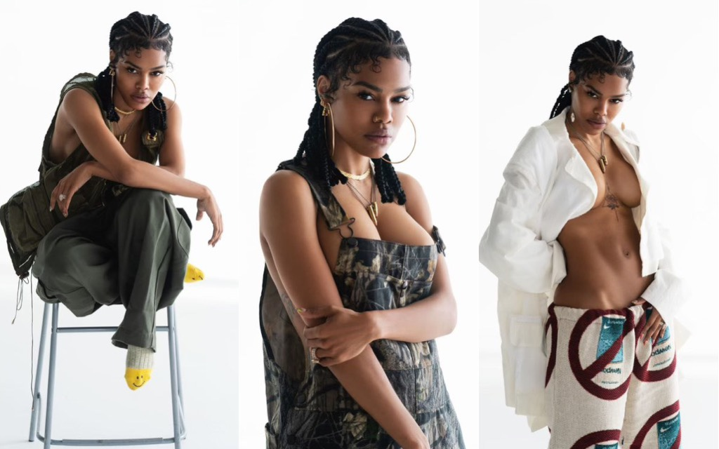 Teyana Taylor Becomes First Black Woman Named Maxim's Sexiest Woman Alive