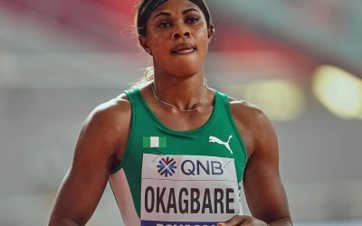 Nigerian sprinter Blessing Okagbare suspended from Tokyo Olympics for failed drug test