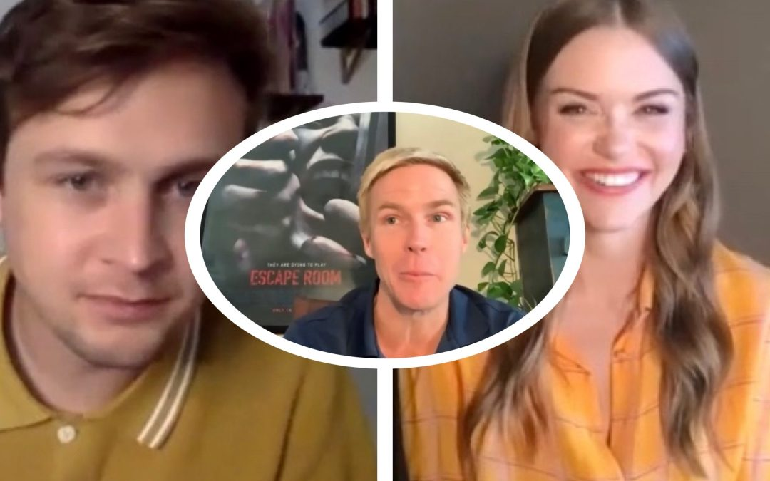 ESCAPE ROOM: TOURNAMENT OF THE CHAMPIONS CAST INTERVIEWS: LOGAN MILLER, HOLLAND RODEN, AND ADAM ROBITEL