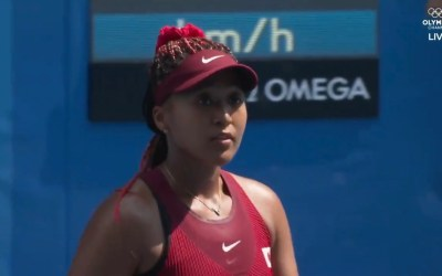 Naomi Osaka Wins in Straight Sets in Tokyo Olympics Debut