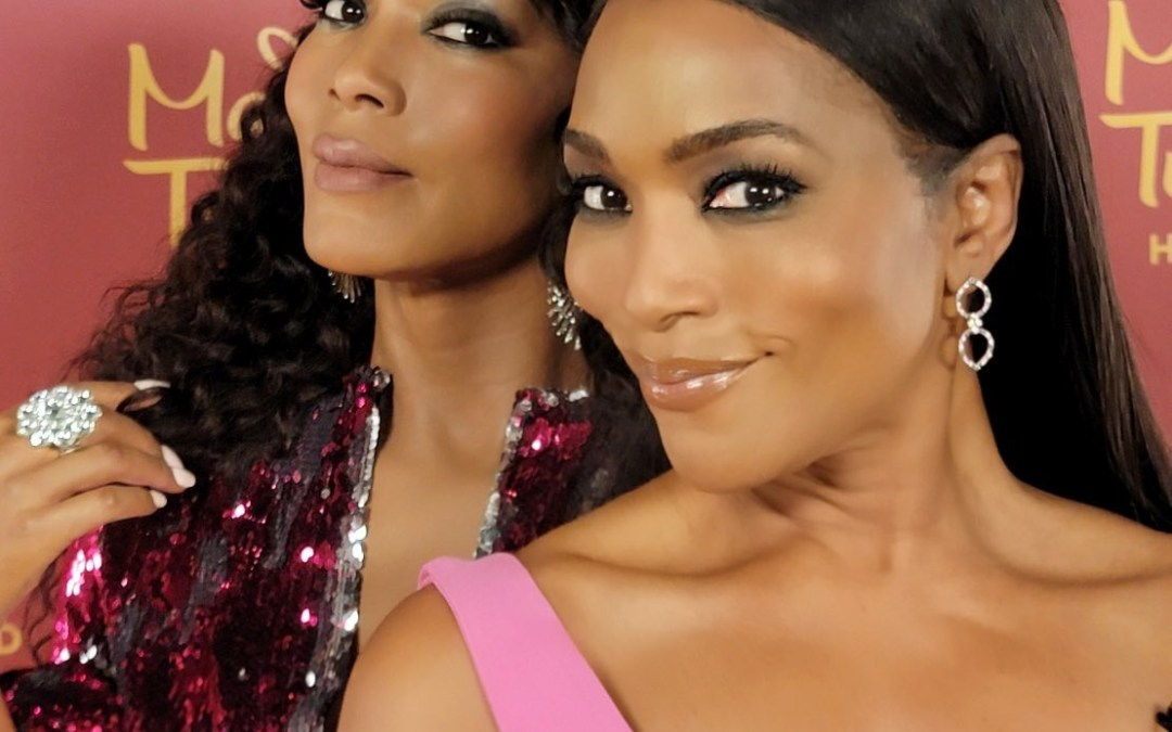 Angela Bassett Reacts to Her Wax Figure at Madame Tussauds Hollywood