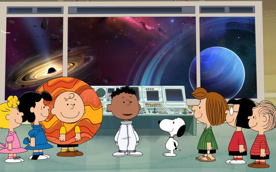 """""""Snoopy in Space"""" lifts off for season two on Friday, November 12"""