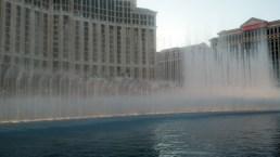 Fountain at the Bellagio