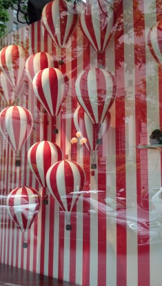 Hot Air Balloon Window