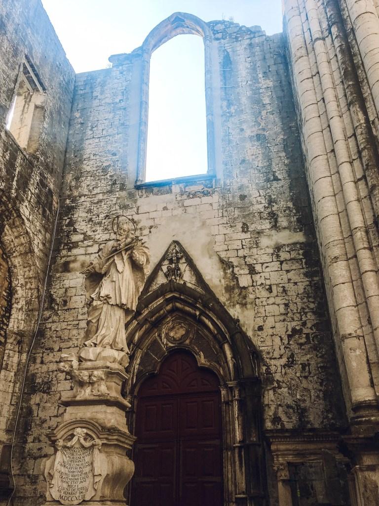 Carmo Ruins, Lisbon, Portugal