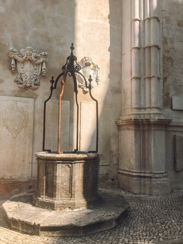 Water well, Carmo Ruins, Lisbon