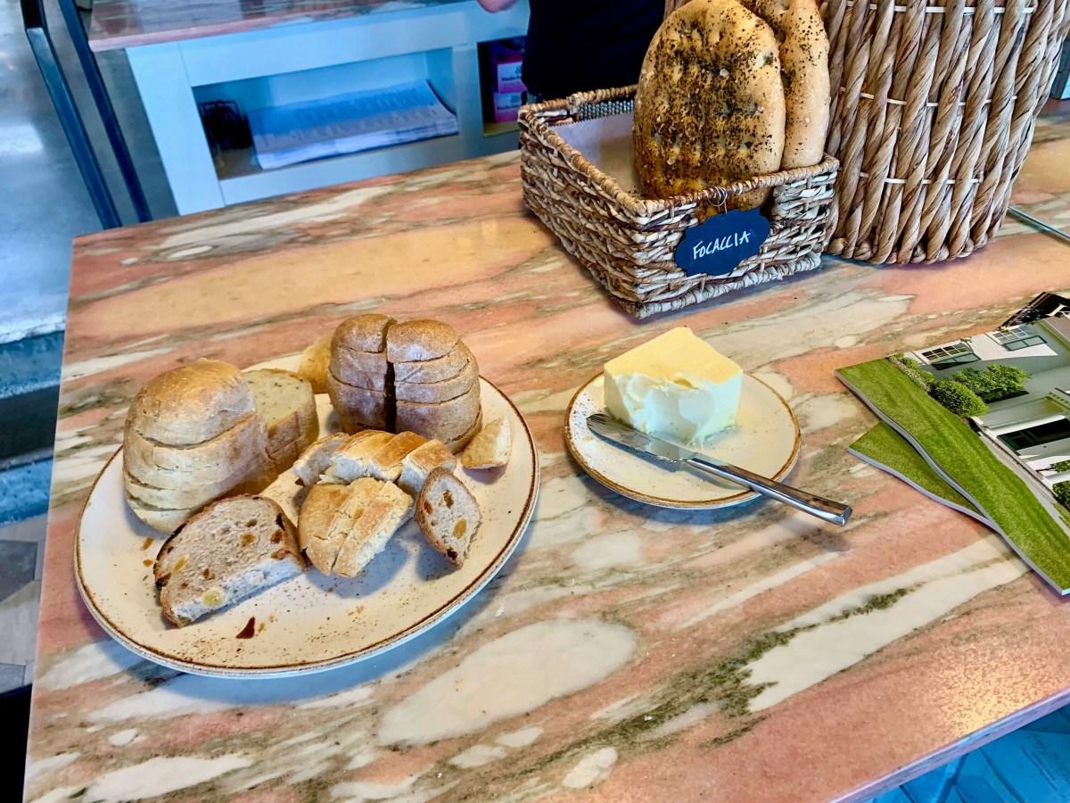 bread samples at Poppy & Olive, Lexington, KY