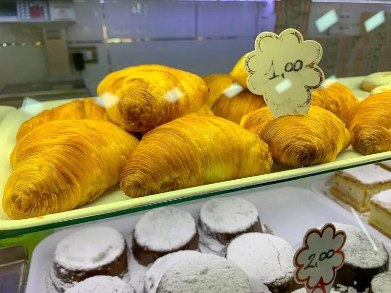 sfogliatella pastry in Italy