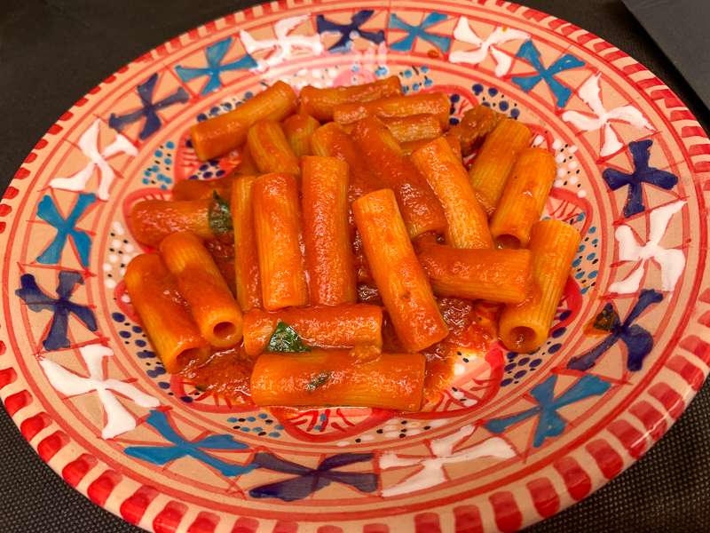 bowl of pasta in Naples, Italy on a Secret Food Tour