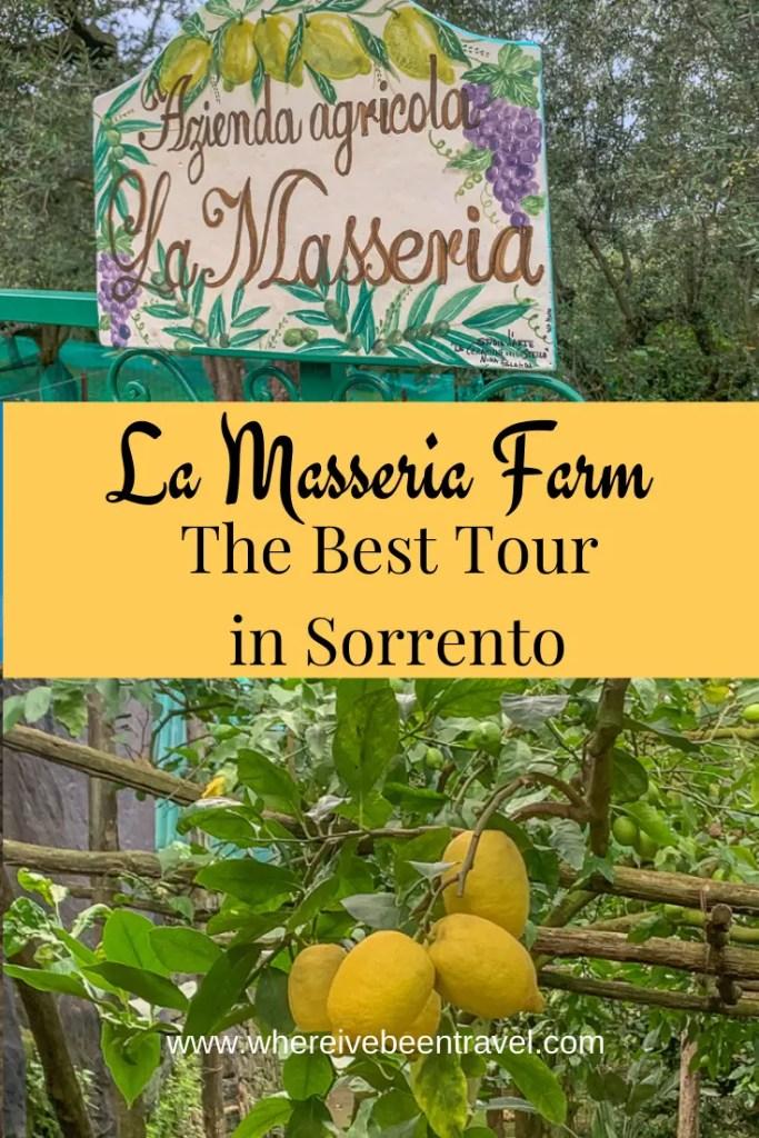 La Masseria Farm Tour in Sorrento