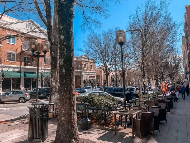 Downtown Greenville South Carolina.