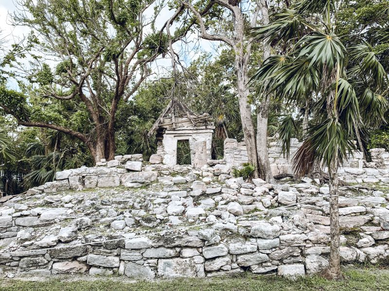 Ruins at Playa del Carman. Xaman Ha