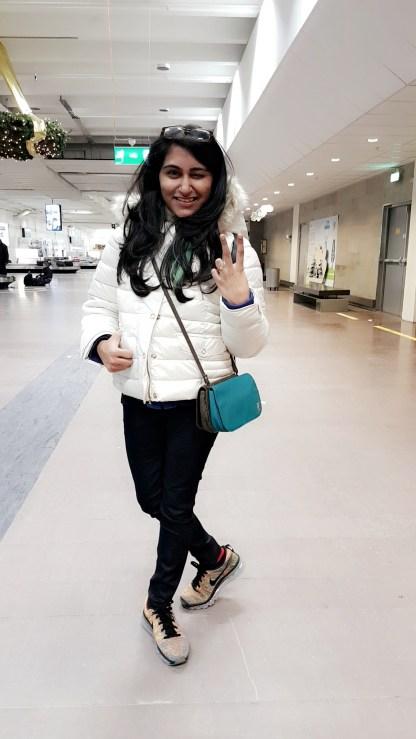 To Swift Landing, Arlanda Airport, Stockholm