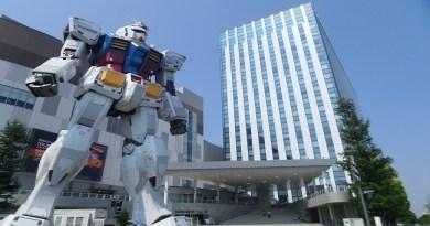Gundam at DiverCity Tokyo Plaza กันดั้ม wherejapan ญี่ปุ่นไปไหนดี