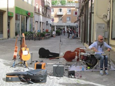 A moment from the Festa della Musica in Pesaro