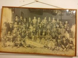Candelara's town band, 1938