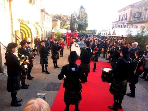 Bazzano Castle Pipe Band